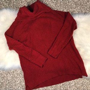 If It Were Me Anthro knit sweater sz XL